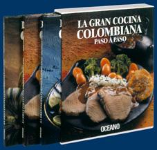 LA GRAN COCINA COLOMBIANA PASO A PASO (3 VOLS.).