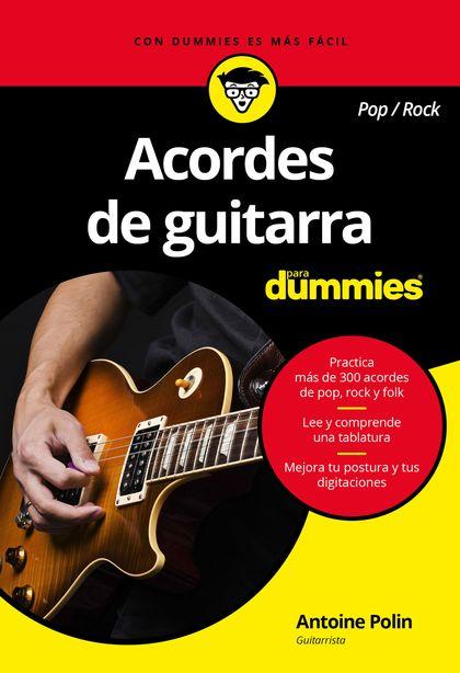 ACORDES DE GUITARRA POP/ROCK PARA DUMMIES.