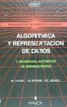 ALGORITMICA Y REPRESENTACION DE DATOS I