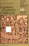 LA POESÍA Y EL TEATRO EN EL SIGLO XVIII