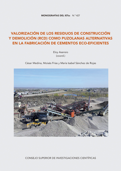 VALORIZACIÓN DE LOS RESIDUOS DE CONSTRUCCIÓN Y DEMOLICIÓN (RCD) COM PUZOLANAS AL.