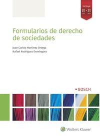 FORMULARIOS DE DERECHO DE SOCIEDADES.