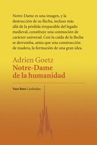 NOTRE-DAME DE LA HUMANIDAD
