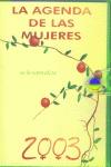 2003 AGENDA DE LAS MUJERES **