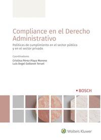 COMPLIANCE EN EL DERECHO ADMINISTRATIVO.