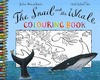 SNAIL WHALE COLOURING BOOK