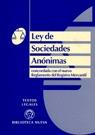 LEY DE SOCIEDADES ANONIMAS