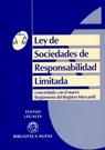LEY DE SOCIEDADES DE RESPONSABILIDAD LIMITADA