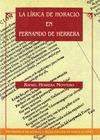 LA LIRICA DE HORACIO EN FERNANDO DE HERRERA
