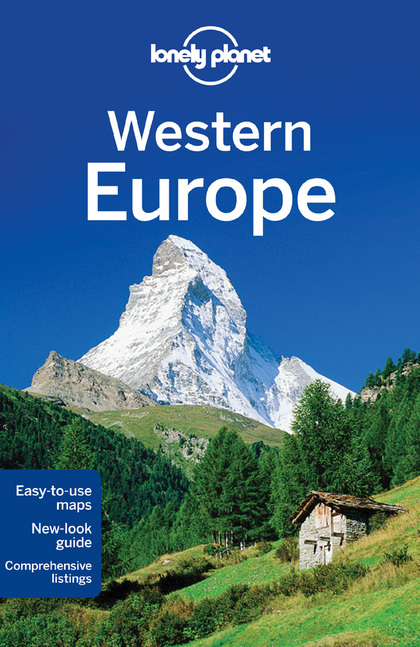 EUROPE WESTERN 11  *LONELY PLANET ING.2013*