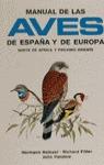 MANUAL AVES ESPAÑA,EUROPA,NORTE AFRICA