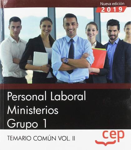 PERSONAL LABORAL MINISTERIOS GRUPO 1 TEMARIO VOL 2.