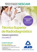 TEMARIO ESPECIFICO III TECNICO SUPERIOR RADIODIAGNOSTICO SESCAM