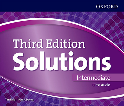 SOLUTIONS 3RD EDITION INTERMEDIATE. CLASS AUDIO CD.