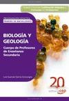 CUERPO DE PROFESORES DE ENSEÑANZA SECUNDARIA, BIOLOGÍA Y GEOLOGÍA, 1 BACHILLERATO. PROGRAMACIÓN