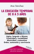 LA EDUCACIÓN TEMPRANA DE 0 A 3 AÑOS.