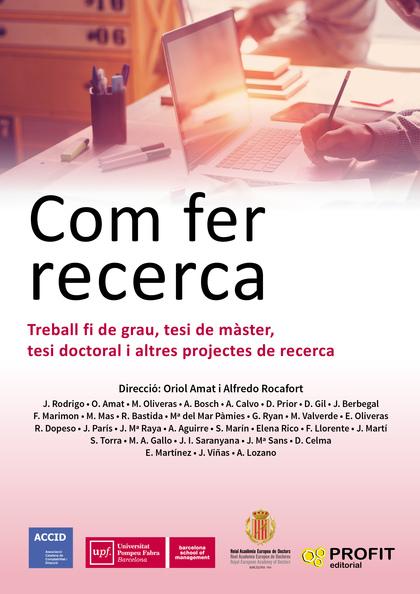 COM FER RECERCA                                                                 TREBALL FI DE G