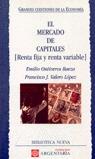 EL MERCADO DE CAPITALES (RENTA FIJA Y RENTA VARIABLE)