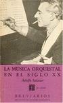 La música orquestal en el siglo XX
