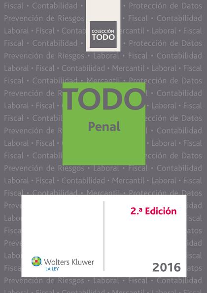 TODO PENAL (2.ª EDICIÓN).