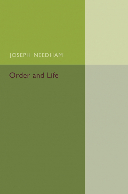 ORDER AND LIFE