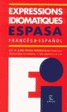 EXPRESSIONS IDIOMATIQUES FRANCÉS-ESPAÑOL