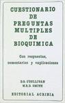 CUESTIONARIO DE PREGUNTAS MULTIPLES DE BIOQUIMICA