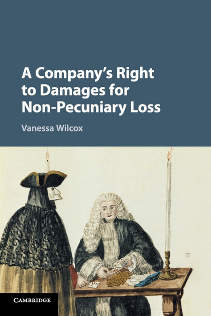 A COMPANY´S RIGHT TO DAMAGES FOR NON-PECUNIARY             LOSS