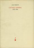 CATÀLEG GENERAL : (1952-1981)