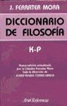DICCIONARIO FILOSOFIA K-P