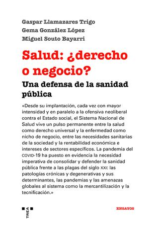 SALUD DERECHO O NEGOCIO UNA DEFENSA DE LA SANIDAD PUBLICA