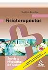 FISIOTERAPEUTAS, SERVICIO MURCIANO DE SALUD. TEST PARTE ESPECÍFICA