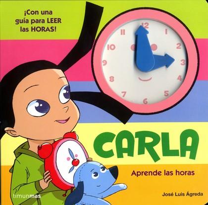 CARLA. APRENDE LAS HORAS