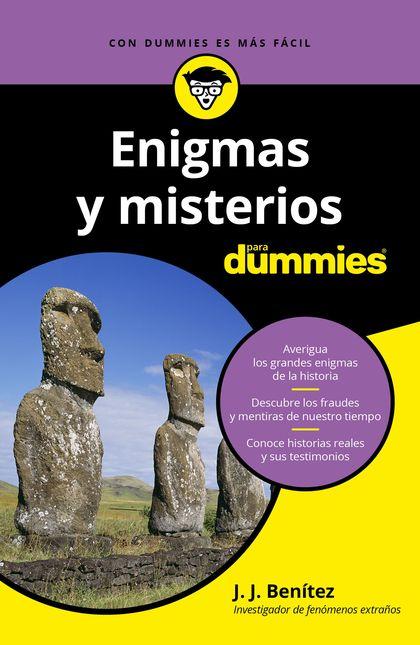 ENIGMAS Y MISTERIOS PARA DUMMIES.