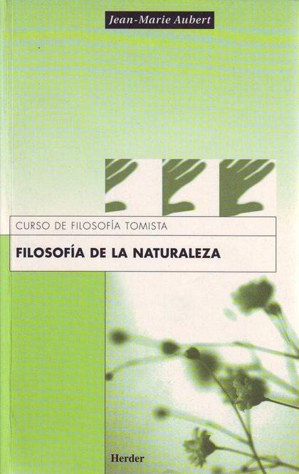 FILOSOFIA NATURALEZA
