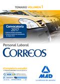 PERSONAL LABORAL DE CORREOS Y TELÉGRAFOS. TEMARIO VOLUMEN 1.
