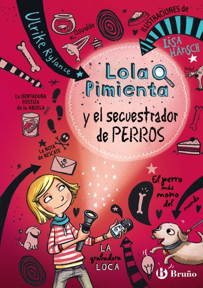 LOLA PIMIENTA, 1. LOLA PIMIENTA Y EL SECUESTRADOR DE PERROS.