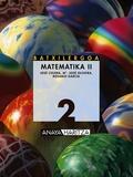 MATEMATIKA, 2 BATXILERGOA (PAÍS VASCO)