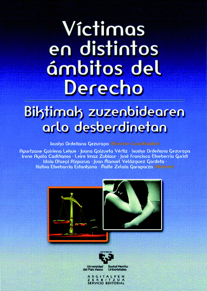 VÍCTIMAS EN DISTINTOS ÁMBITOS DEL DERECHO