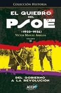 EL QUIEBRO DEL PSOE (1933-1934). DEL GOBIERNO A LA REVOLUCIÓN. DEL GOBIERNO A LA REVOLUCIÓN