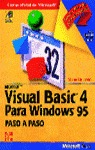MICROSOFT VISUAL BASIC 4 WINDOWS 95 PASO PASO