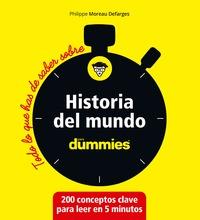 HISTORIA DEL MUNDO.