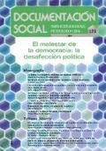 EL MALESTAR DE LA DEMOCRACIA : LA DESAFECCIÓN POLÍTICA