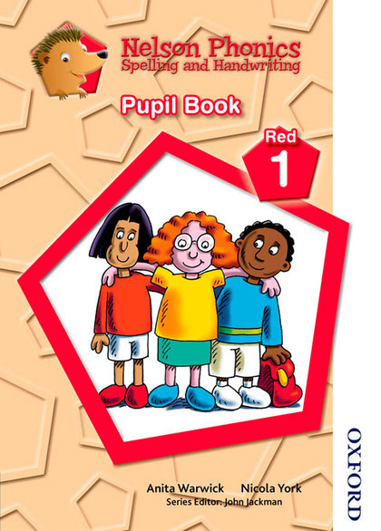 NELSON PHONICS SPELLING AND HANDWRITING STUDENT´S BOOK RED 1.