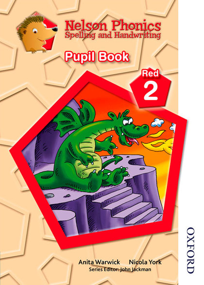 NELSON PHONICS SPELLING AND HANDWRITING STUDENT´S BOOK RED 2.