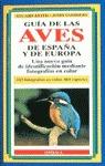 GUIA AVES ESPAÑA Y EUROPA
