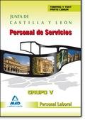PERSONAL LABORAL, GRUPO V, JUNTA DE CASTILLA Y LEÓN. TEMARIO COMÚN Y TEST