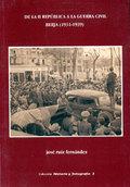DE LA II REPÚBLICA A LA GUERRA CIVIL : BERJA, 1931-1939