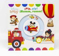 DISNEY BABY. ¡PIP, PIP! ¡RUMM, RUMM!. LIBRO DE CAR.