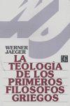 La teología de los primeros filósofos griegos